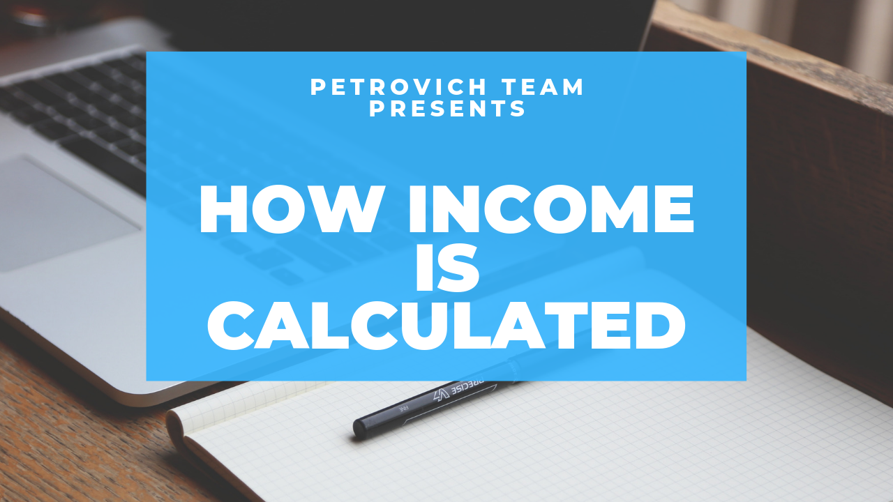 How Income Is Calculated